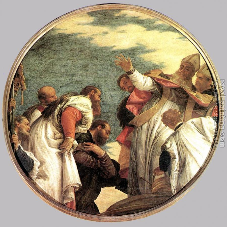Paolo Veronese : St Nicholas Named Bishop of Myra