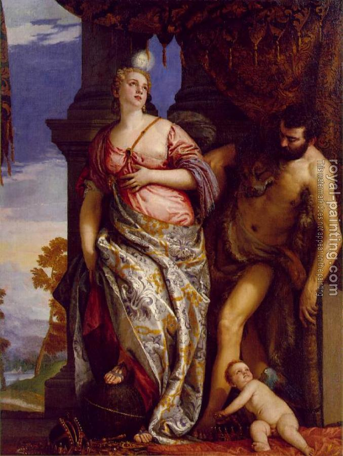 Paolo Veronese : Allegory of Wisdom and Strength