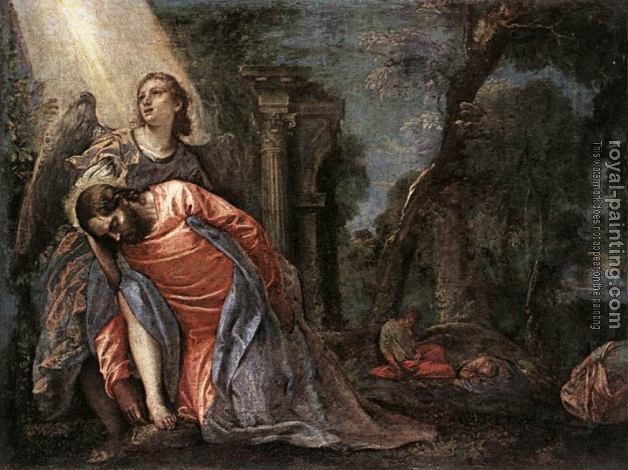 Paolo Veronese : Christ in the Garden of Gethsemane