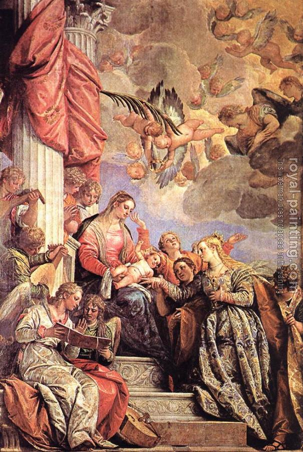 Paolo Veronese : Mystic Marriage of St Catherine