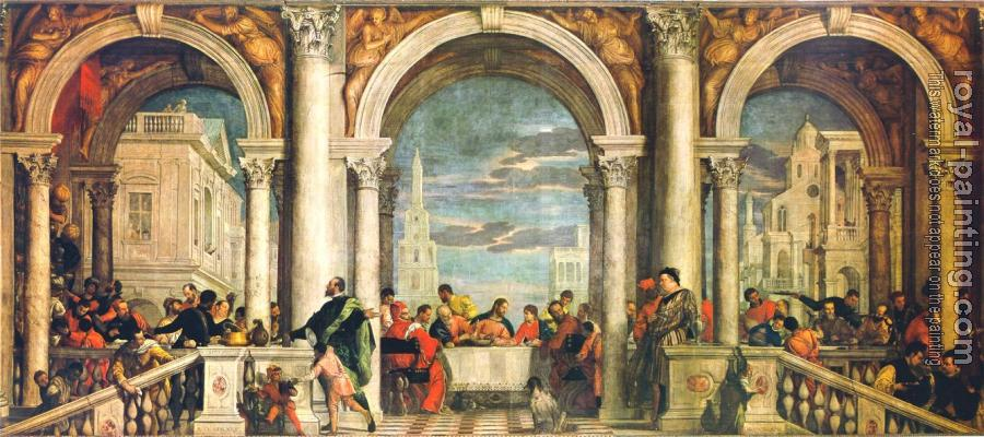 Paolo Veronese : Feast in the House of Levi