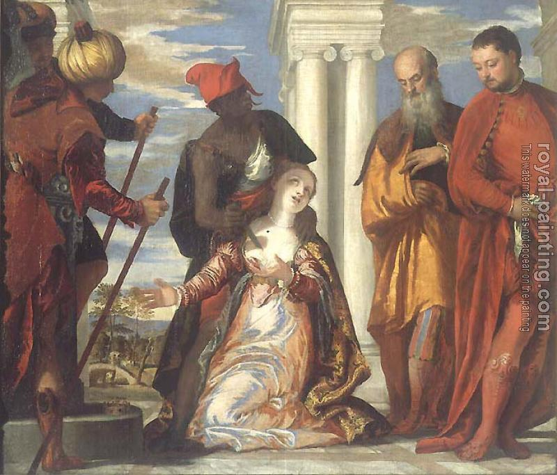 Paolo Veronese : The Martyrdom and Last Communion of Saint Lucy