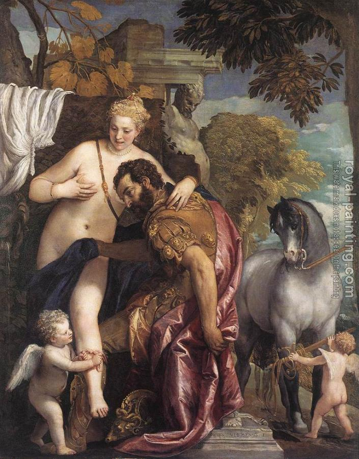 Paolo Veronese : Mars and Venus United by Love