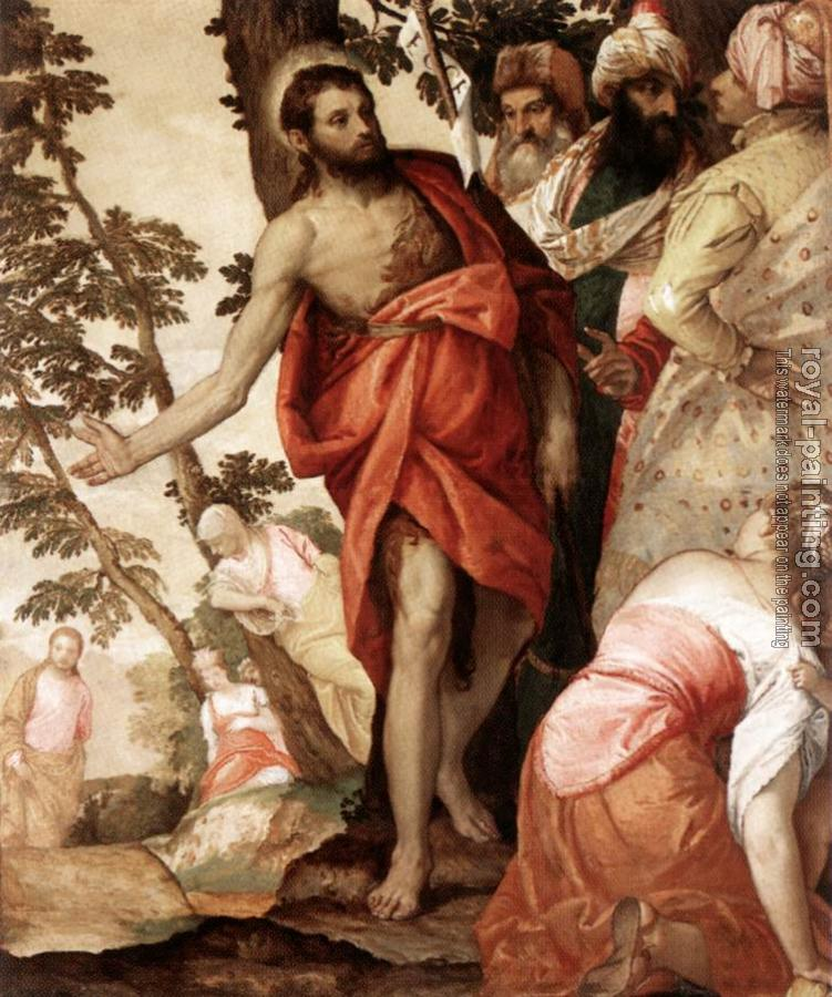 Paolo Veronese : St John the Baptist Preaching
