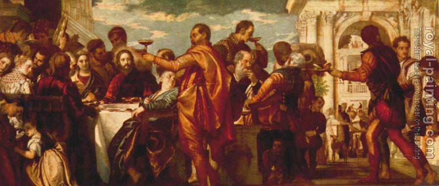 Paolo Veronese : The Marriage at Cana II