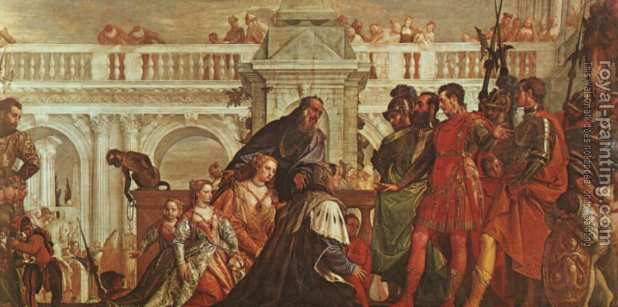 Paolo Veronese : The Family of Darius before Alexander