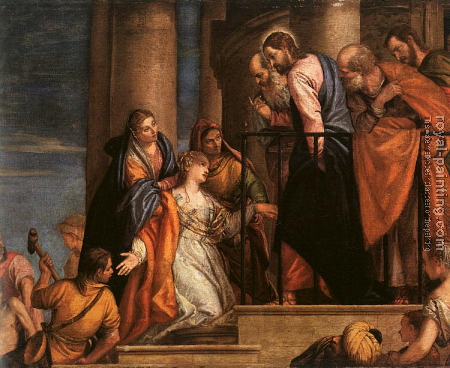Paolo Veronese : The Raising of the Youth of Nain