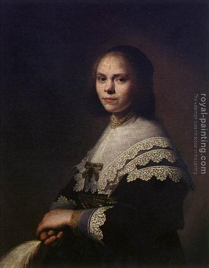 Jan Cornelisz Verspronck : Portrait of a Woman II