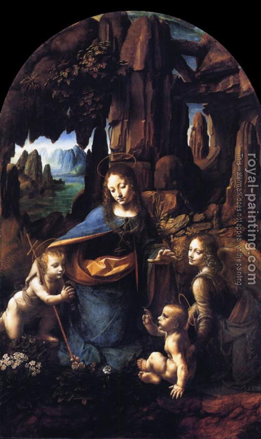Leonardo Da Vinci : Virgin of the Rocks