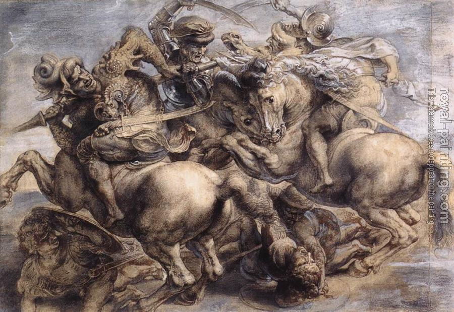 Leonardo Da Vinci : The Battle of Anghiari