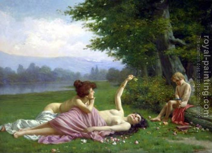 Vittorio Reggianini : Tempting Cupid