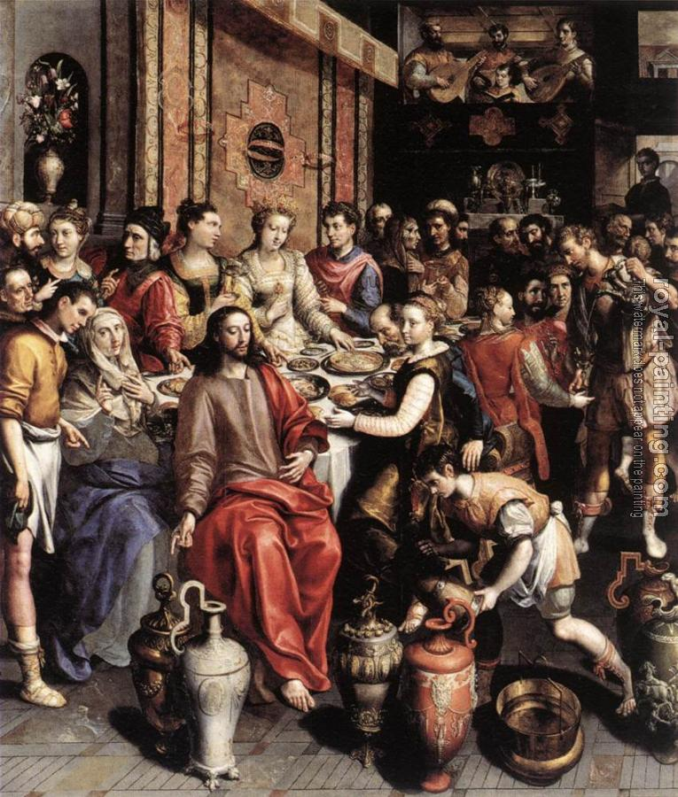 Marten De Vos : The Marriage at Cana