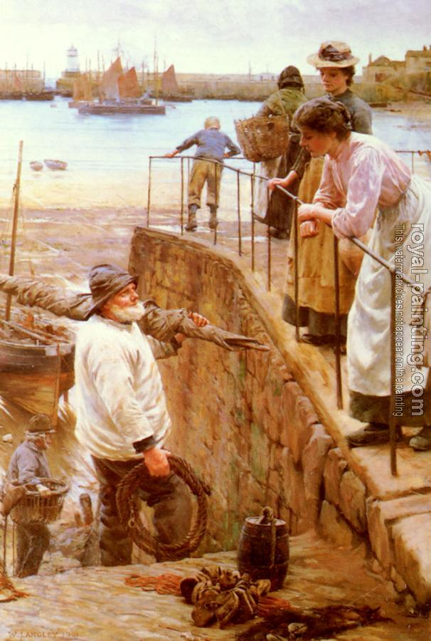 Walter Langley : Between The Tides