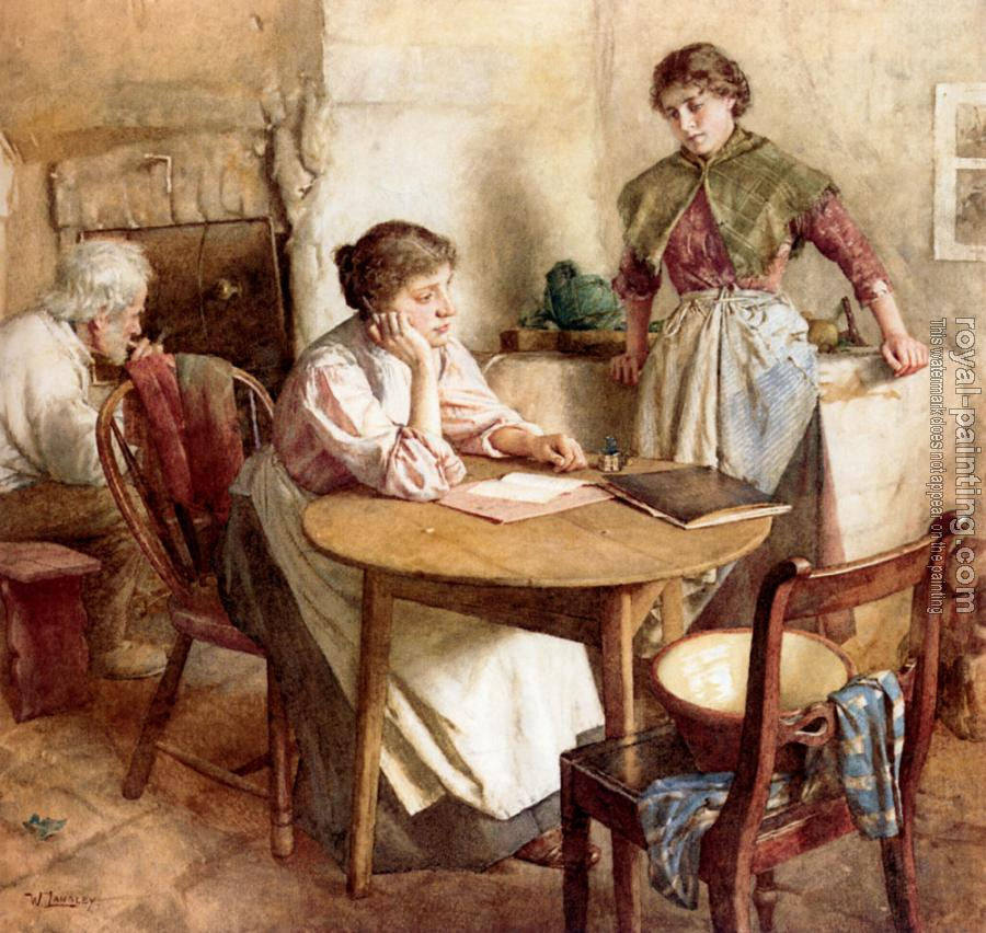 Walter Langley : Thoughts Far Away