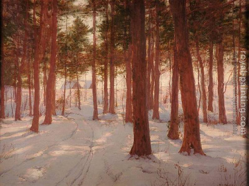 Walter Launt Palmer : Edge of the Wood