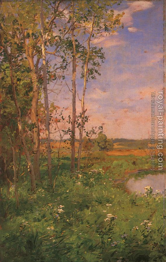Walter Launt Palmer : WPalmer Walter Launt At the Edge of the Pond