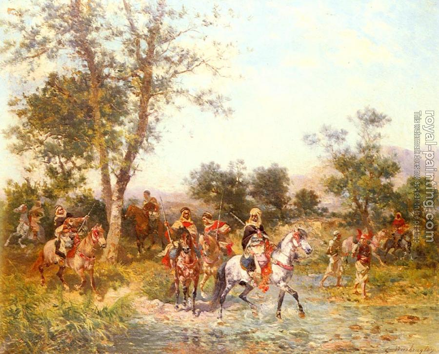 Georges Washington : Arab Riders at the Oasis