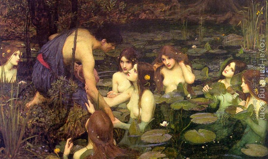 John William Waterhouse : Hylas and the Nymphs