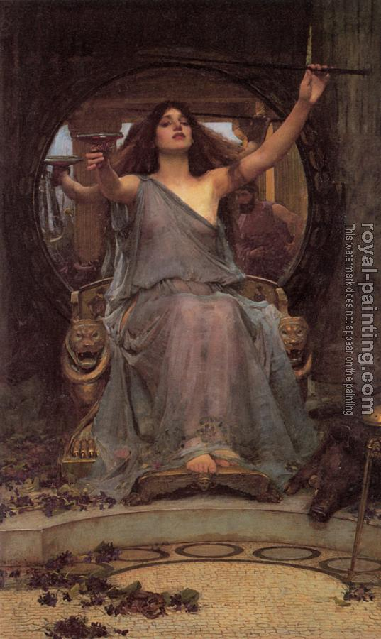 John William Waterhouse : Circe offering the Cup to Ulysses
