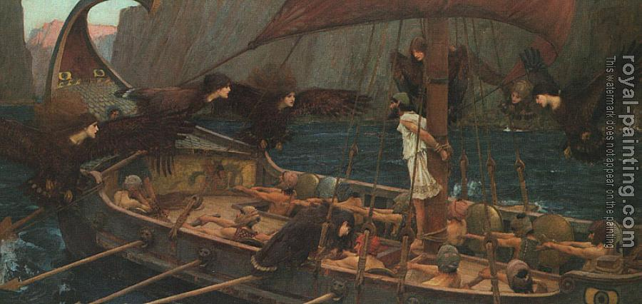 John William Waterhouse : Ulysses and the Sirens