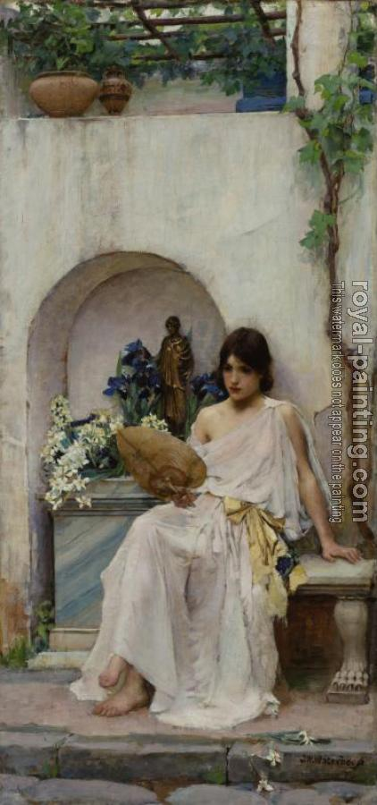 John William Waterhouse : Flora