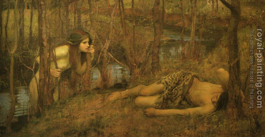 John William Waterhouse : A Naiad