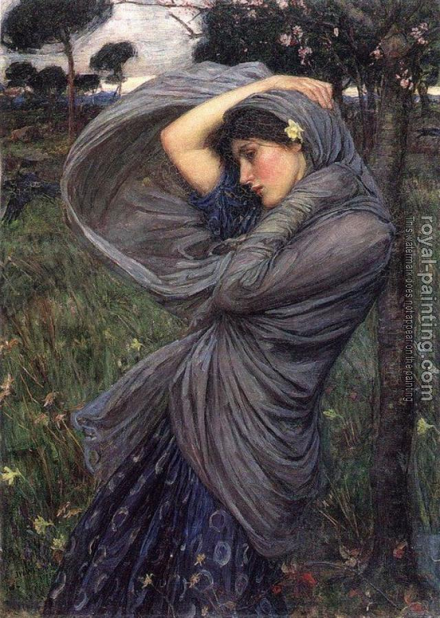 John William Waterhouse : Boreas