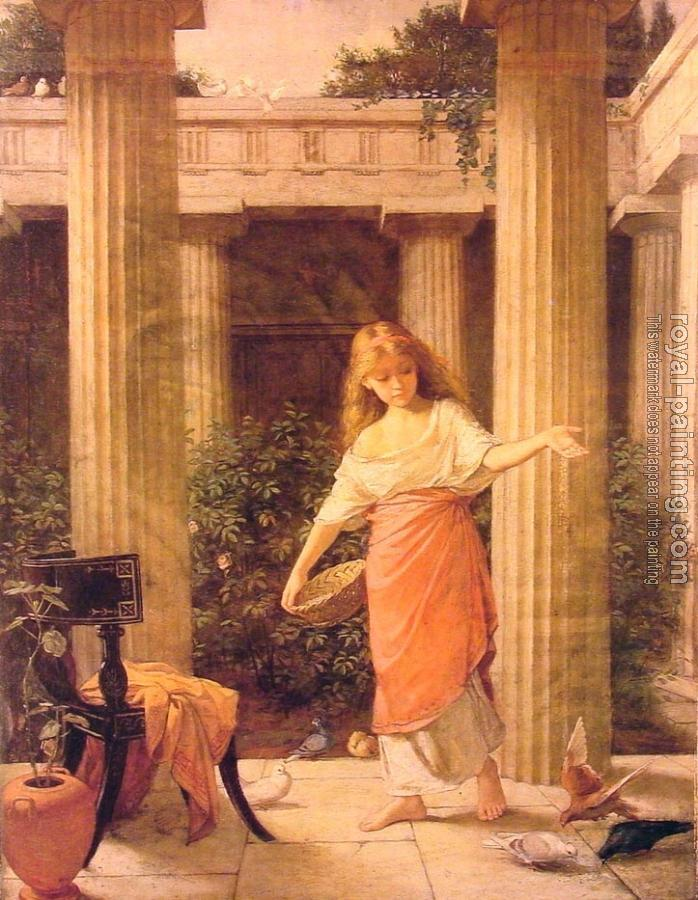John William Waterhouse : In the Peristyle