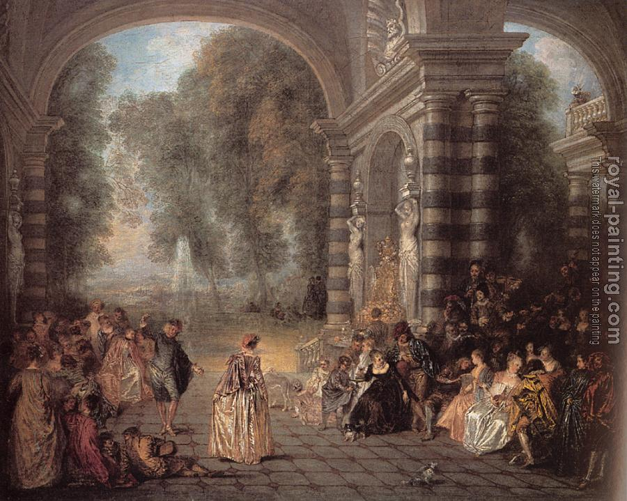 Jean-Antoine Watteau : Pleasures of the Ball