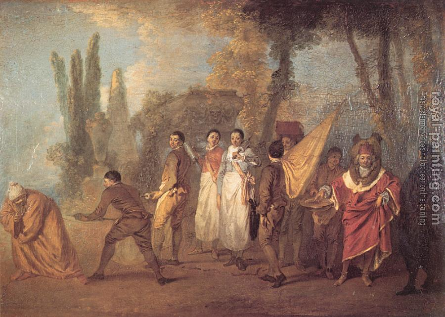 Jean-Antoine Watteau : Whatever I build, assassins destroy
