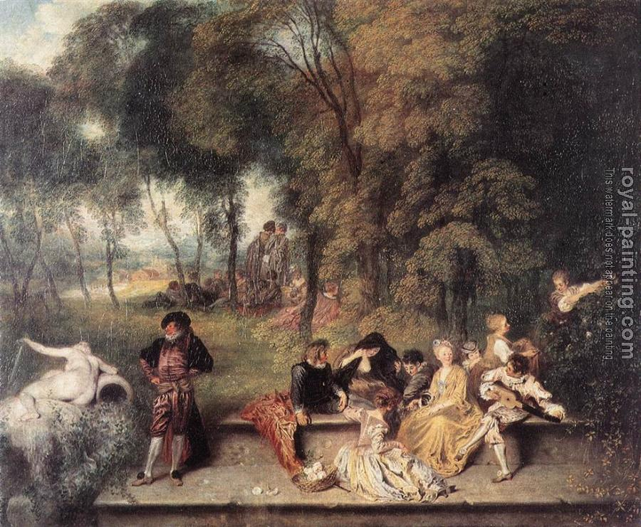 Merry Company in the Open Air II