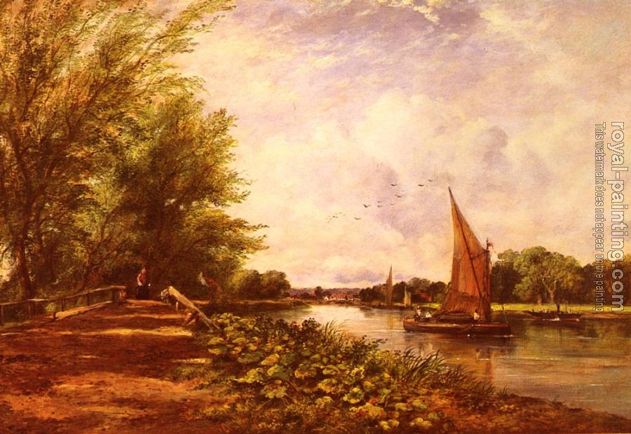 Frederick Waters Watts : The Riverbank