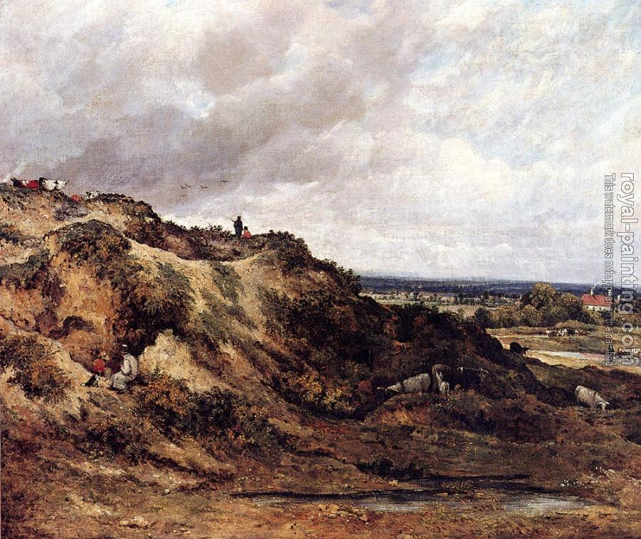 Frederick Waters Watts : View Of Hampstaed Heath