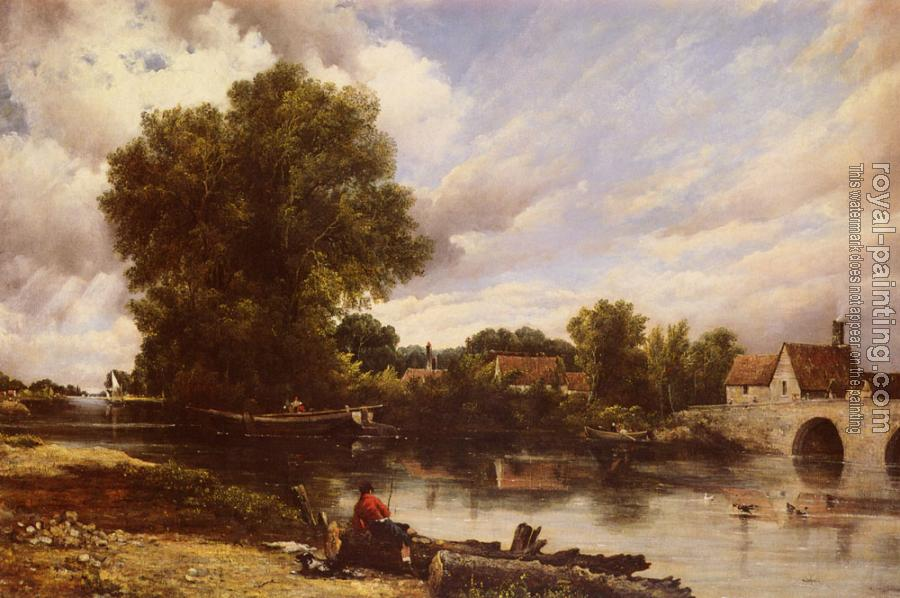 Frederick Waters Watts : Along The River