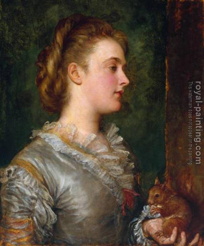 George Frederick Watts : Dorothy Tennant Later Lady Stanley