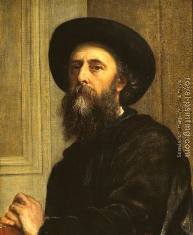 George Frederick Watts : Self Portrait