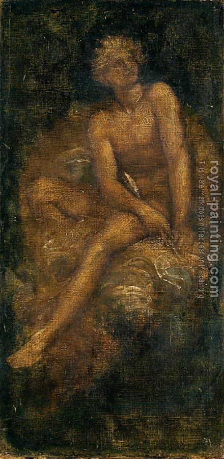George Frederick Watts : Study for Hyperion