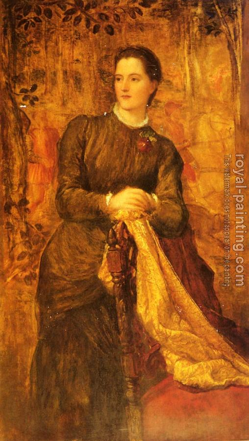 George Frederick Watts : The Honourable Mary Baring