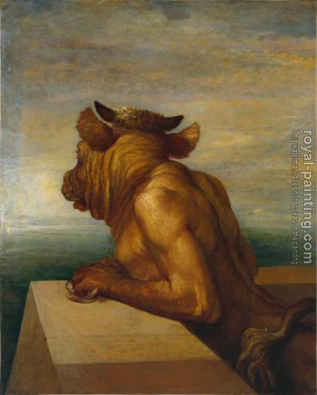 George Frederick Watts : The Minotaur