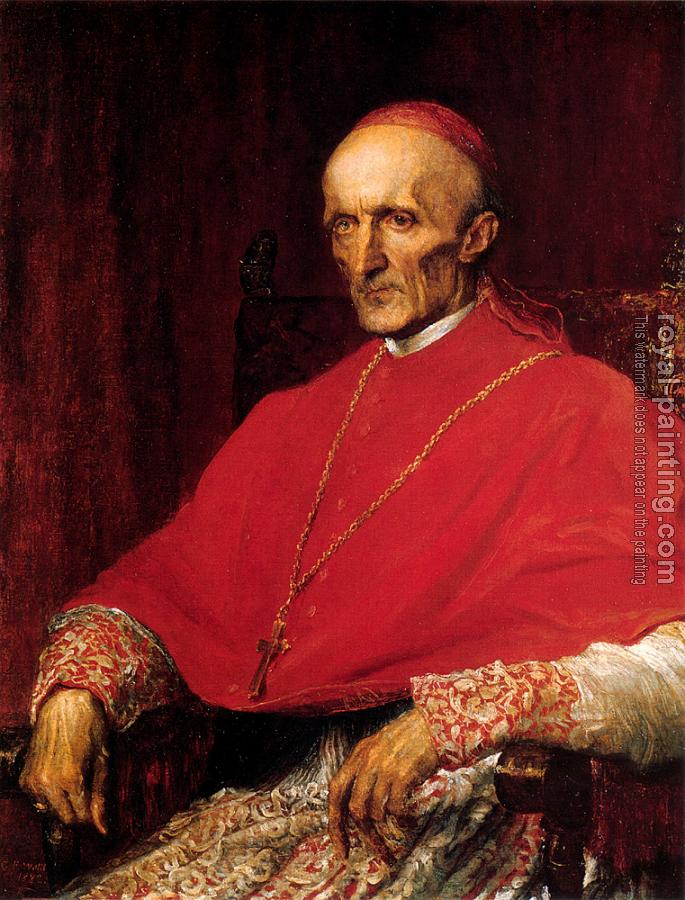George Frederick Watts : G F Cardinal Manning