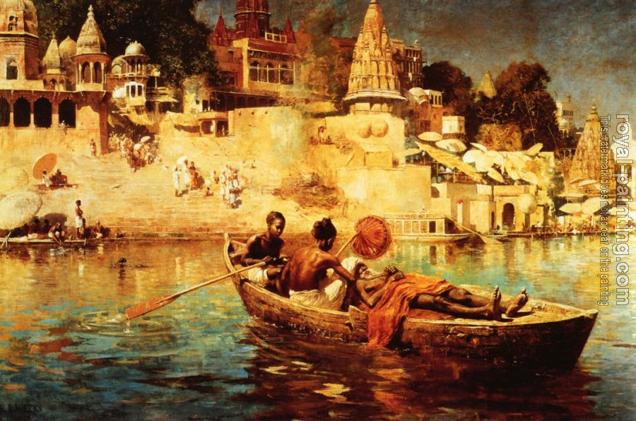 Edwin Lord Weeks : The Last Voyage: A Souvenir of the Ganges