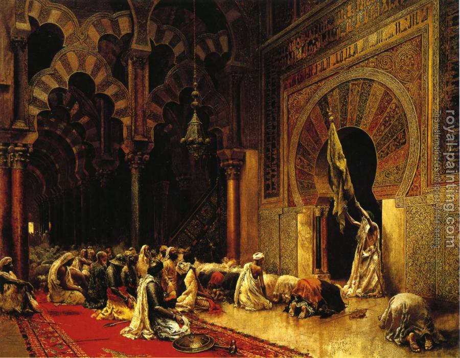 Edwin Lord Weeks : Interior of the Mosque at Cordova