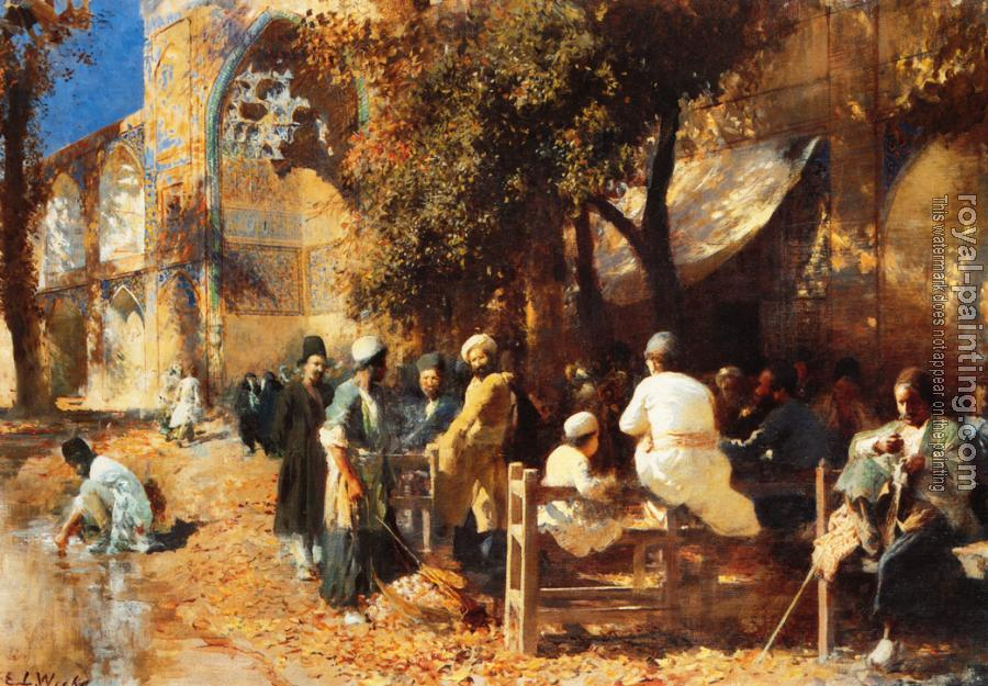 Edwin Lord Weeks : A Persian Cafe