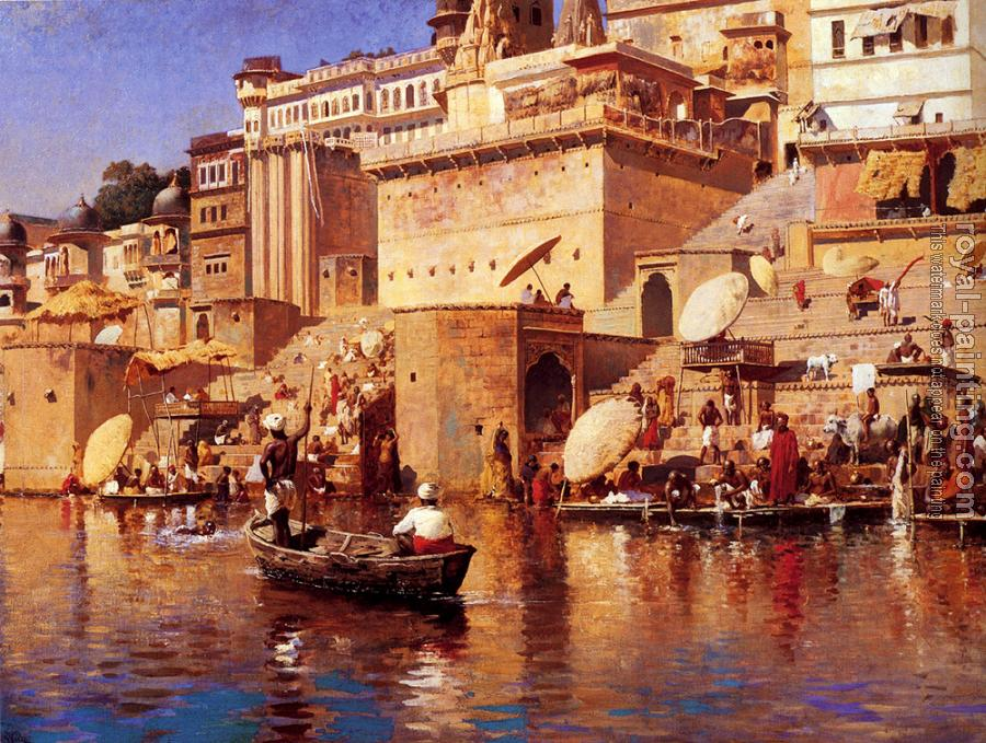 Edwin Lord Weeks : On The River Benares