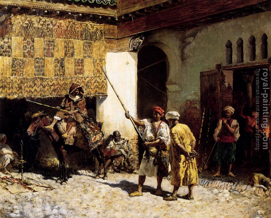 Edwin Lord Weeks : The Arab Gunsmith