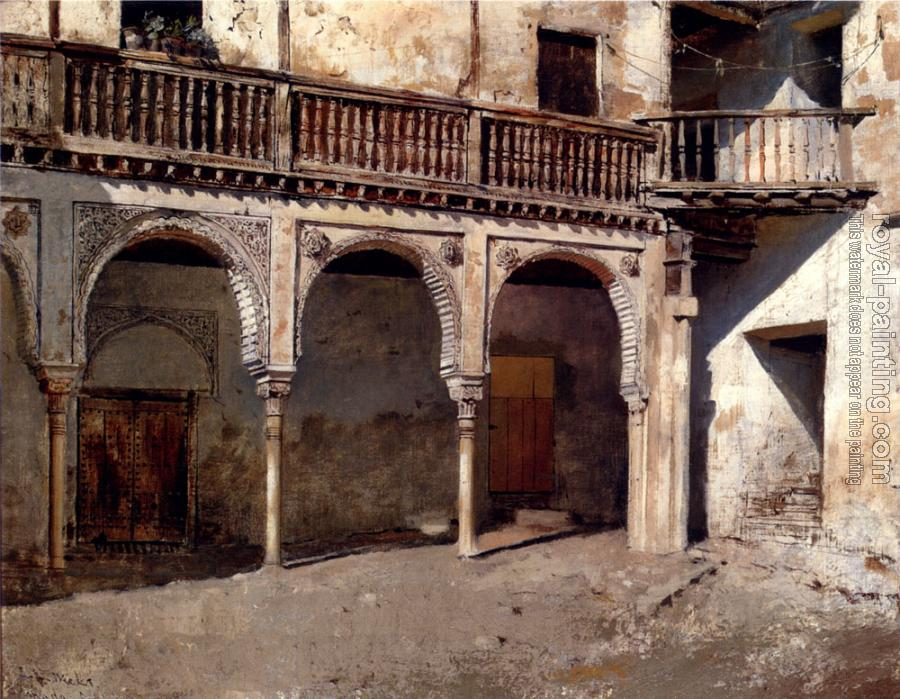Edwin Lord Weeks : Granada Courtyard