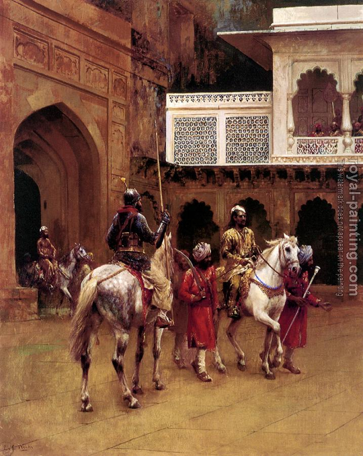 Edwin Lord Weeks : Indian Prince Palace of Agra