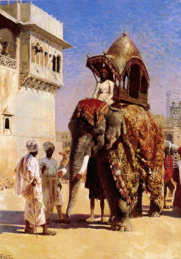 Edwin Lord Weeks : Mogul's Elephant