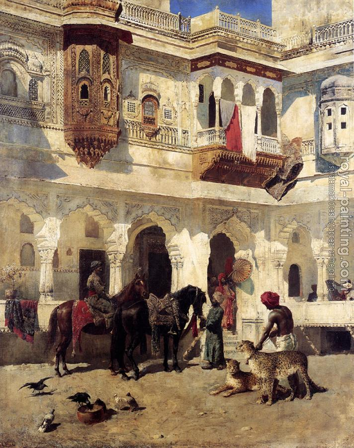 Edwin Lord Weeks : Rajah Starting On A Hunt