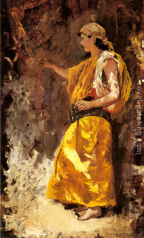 Edwin Lord Weeks : Standing Arab Woman